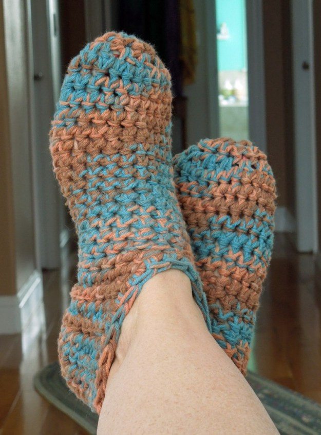 Bootie Slippers Crochet Pattern