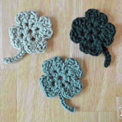 The Easiest Shamrock Crochet Pattern Ever