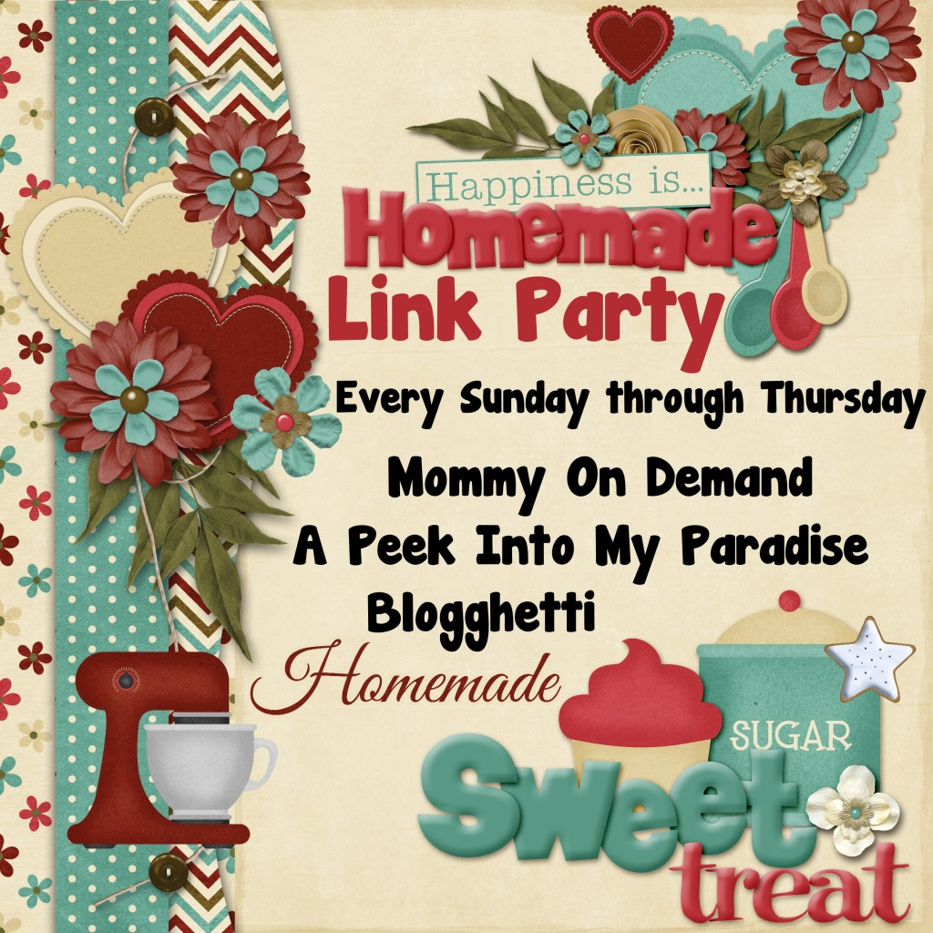 Happiness Is Homemade Link Party #84