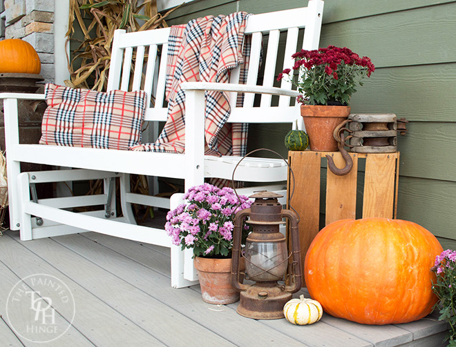 Fall Farmhouse Home Tour 2015 Part 2 – Front Porch