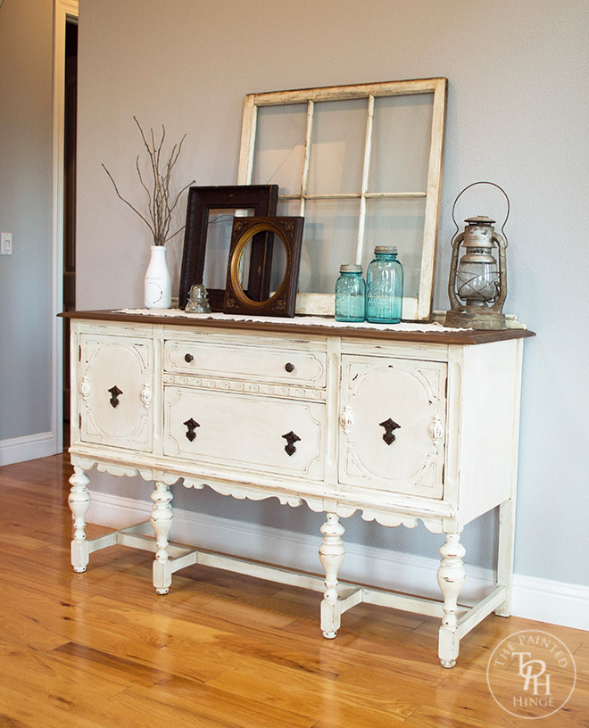 Images Chalk Painted Sideboard