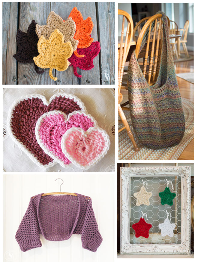 Top 5 Free Crochet Patterns for 2015