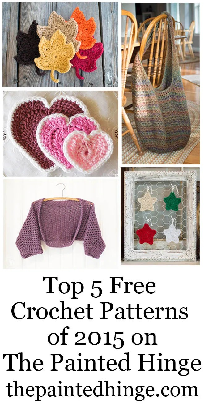 Top 5 Free Crochet Patterns of 1015