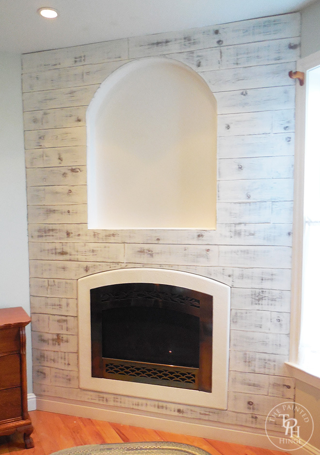 Master Bedroom Fireplace Makeover