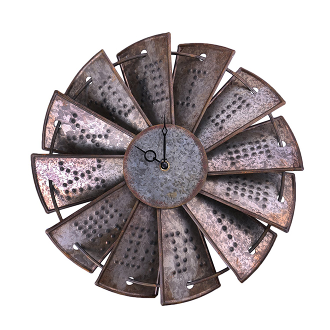 Vintage Windmill Wall Clock Giveaway!