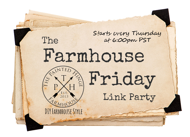 The Farmhouse Friday Link Party