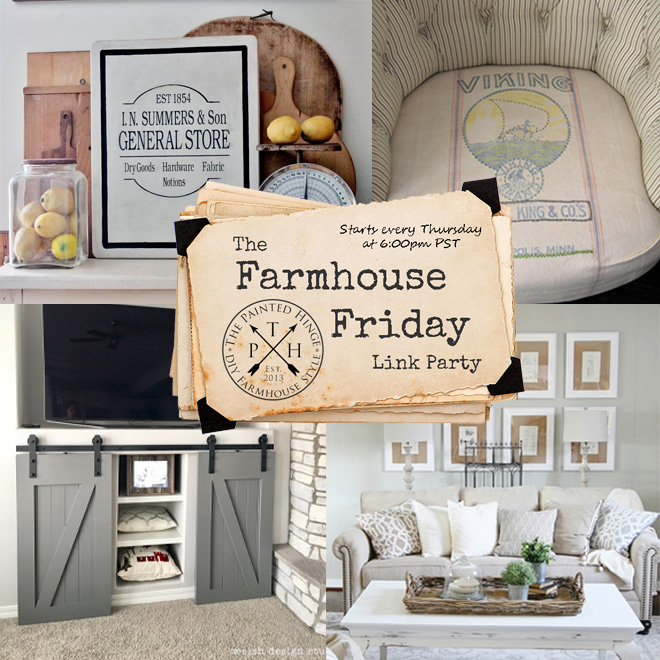 The Farmhouse Friday Link Party #45