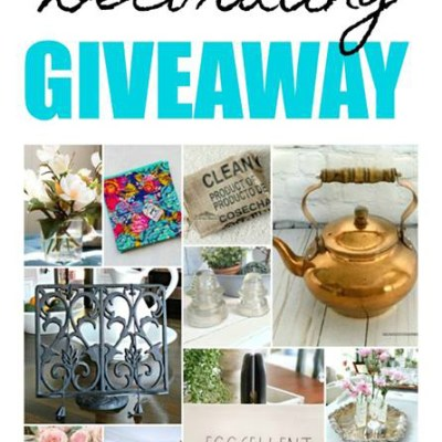 The Thrifty Style Team Grand Home Decor Giveaway!