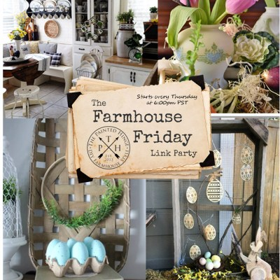 The Farmhouse Friday Link Party #50