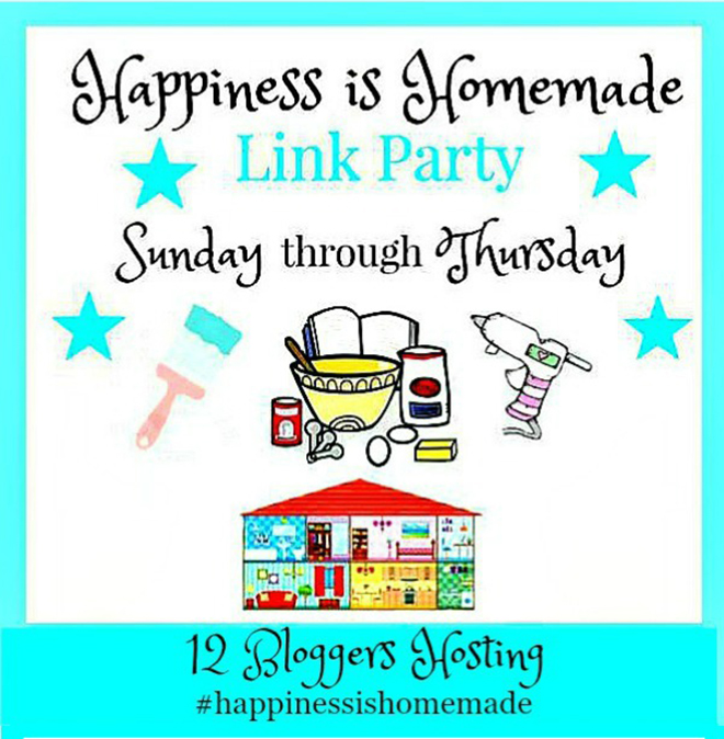 Happiness Is Homemade Link Party #217