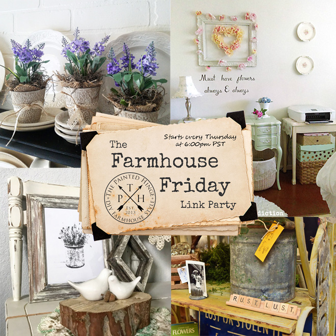 The Farmhouse Friday Link Party #54