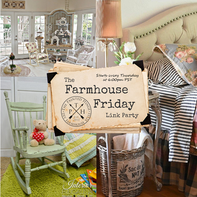 The Farmhouse Friday Link Party #56
