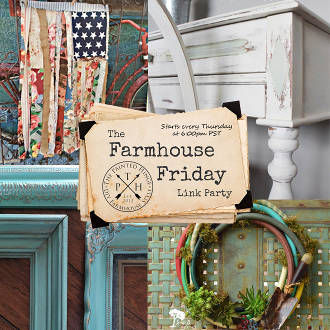 The Farmhouse Friday Link Party #57