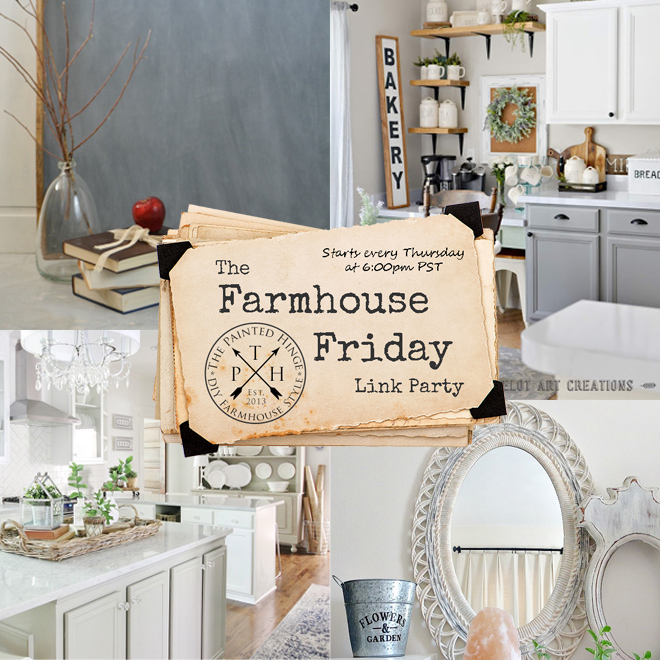 The Farmhouse Friday Link Party #60