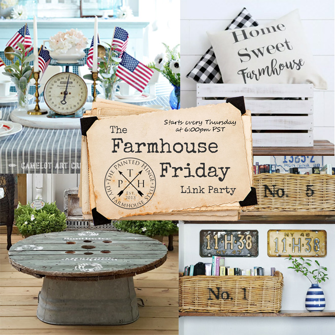 The Farmhouse Friday Link Party #61