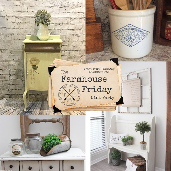 The Farmhouse Friday Link Party #65