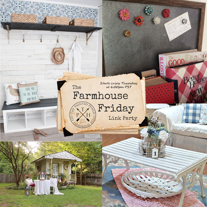 The Farmhouse Friday Link Party #68