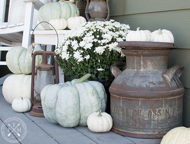 A Neutral Farmhouse Front Porch