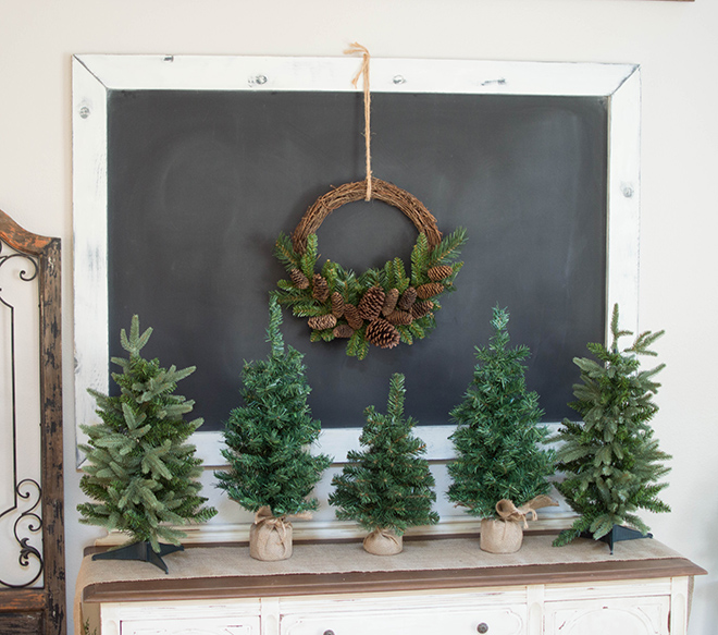 How To Refresh Outdated Christmas Decor With Flocking Powder
