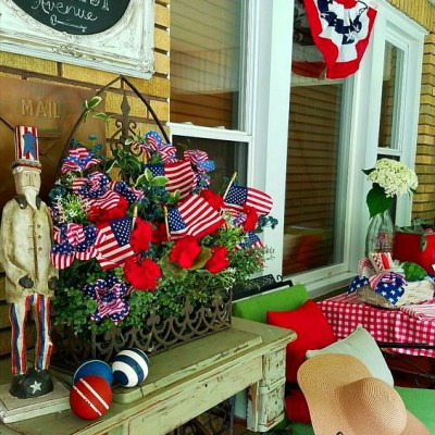 I'm either late for Memorial Day or early for 4th Of July – you decide! – Farmhouse Friday 108