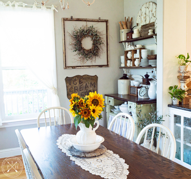 Early Summer in the Dining Room