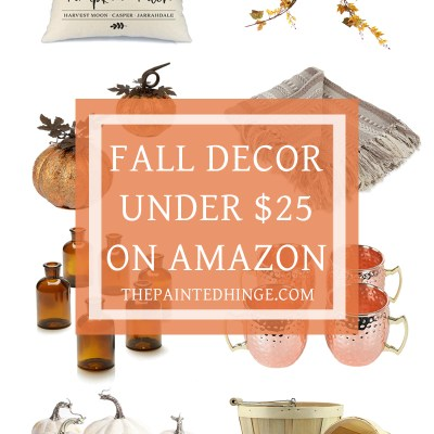 Fall Decor for Under $25 on Amazon