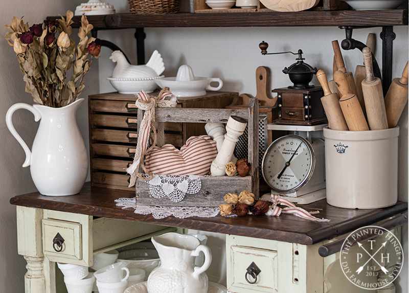 How to Decorate with Vintage Toolboxes