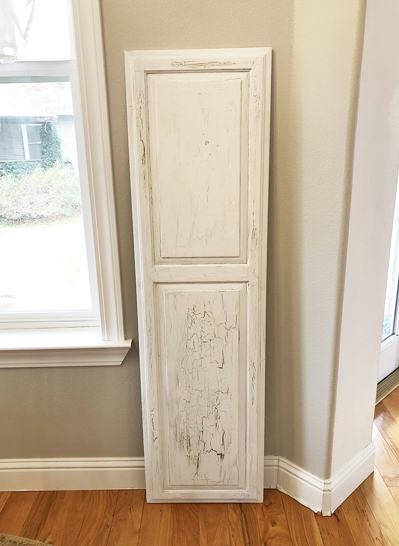 How to Repurpose Cabinet Doors into Wall Decor
