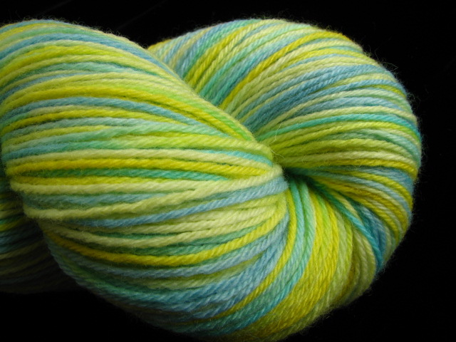 Cheerful - 100% Merino Wool Fingering Yarn