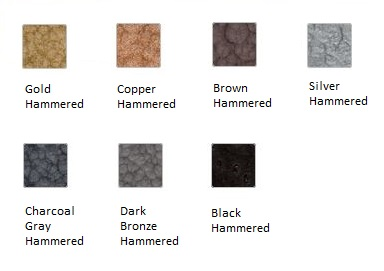 Krylon Rust Protector Hammered Finish Color Chart