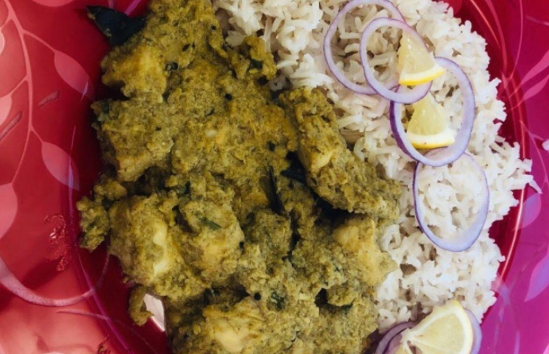 Indian Cashew Chicken Curry