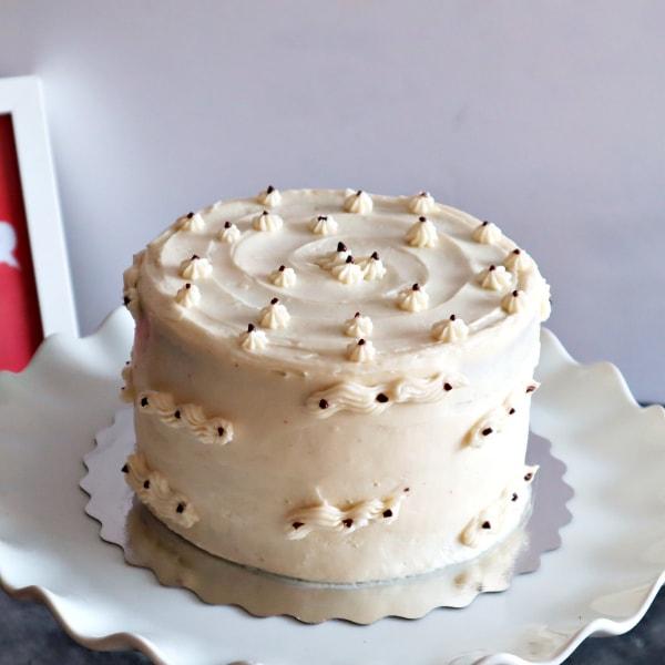 Paleo Chocolate Cake with Vanilla Buttercream in Toronto