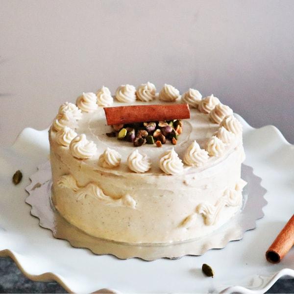 Paleo Vanilla Chai Cake in Toronto