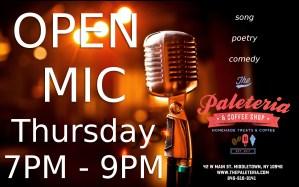 Open Mic Thursday @ Open Mic Thursday
