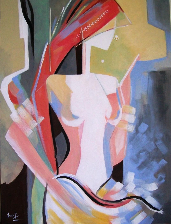 Passion - 45 x 60 cm Acrylic on canvas