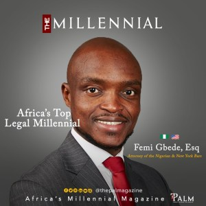 Femi Gbede: Africa's Legal Millennial