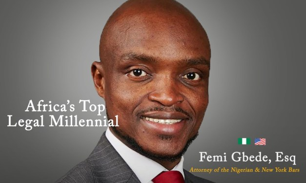 Femi Gbede, Esq: Africa's Legal Millennial