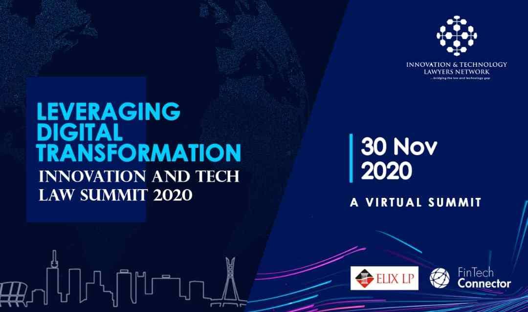 Leveraging Digital Transformation, Innovation & Tech Law Summit 2020