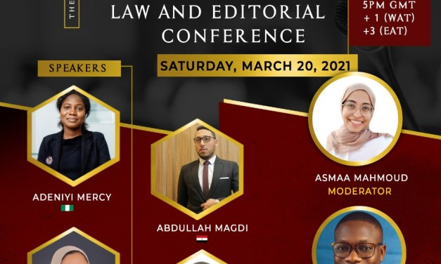The PALM African Millennials' Law and Editorial Conference
