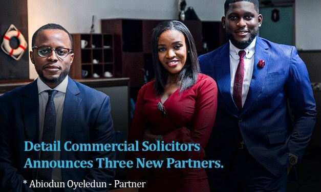 Detail Commercial Solicitors Announces New Managing Partner, Three New Partners, Lead Interface Manager