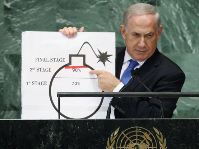 Netanyahu's bomb