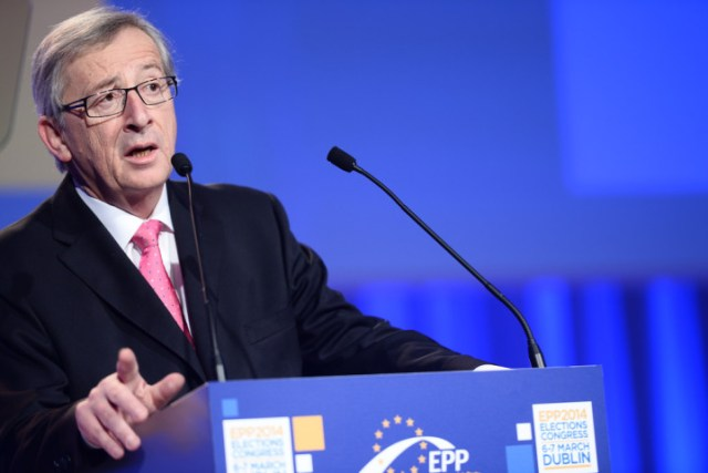 """Jean-Claude Juncker: """"There can be no democratic choice against the European treaties."""" Photo by the European People's Party."""
