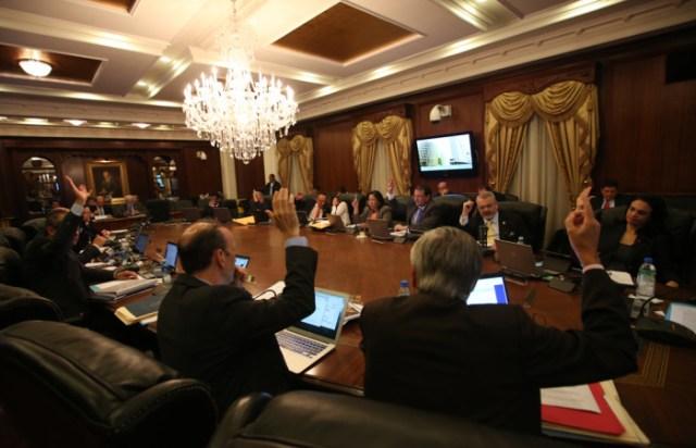 El gabinete. Foto por la Presidencia.