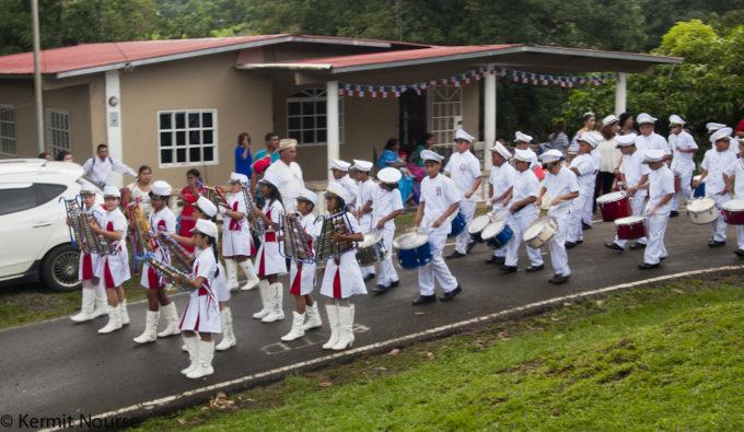 desfile blanco