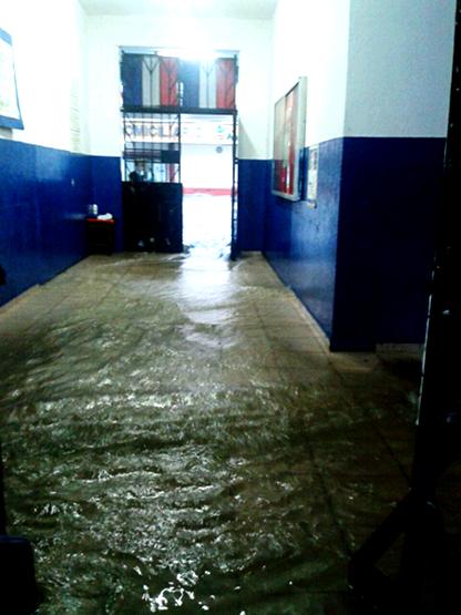 Escuela Venezuela flood