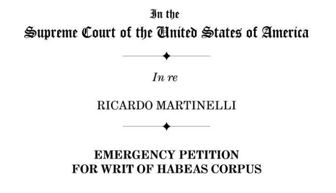Martinelli vaina