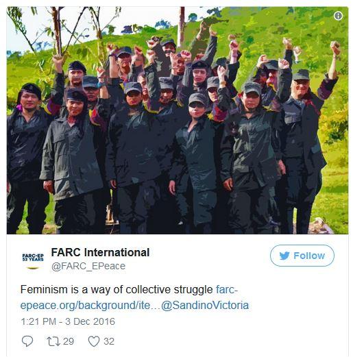 FARC ladies