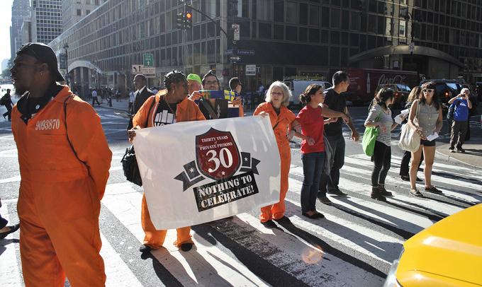 CCA protest