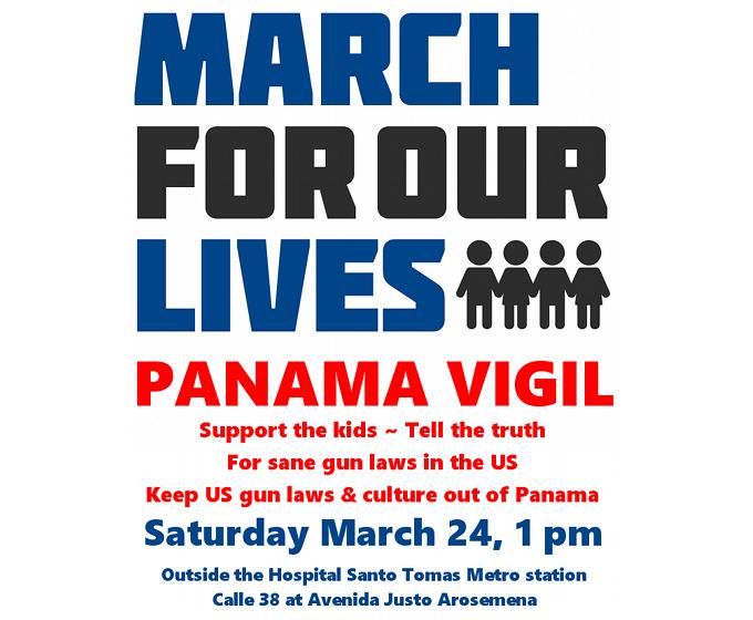 anti-gun vigil