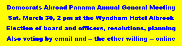 DA - Panama meets on Saturday